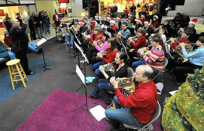 The Holiday Horns will perform their annual concert at the TownMall of Westminster Saturday.