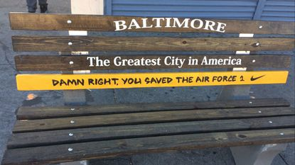 A Nike moment in an Under Armour town: How Baltimore might have saved the Air Force 1 sneaker