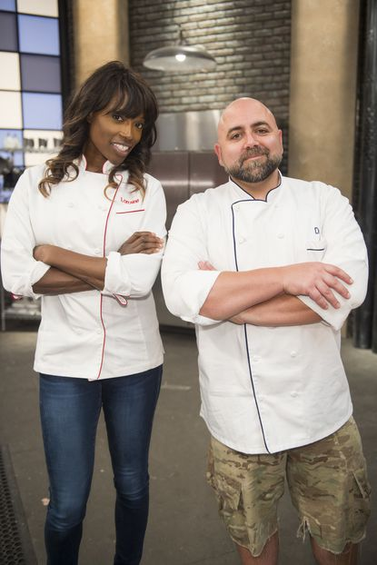 """ChefsLorraine Pascale and Duff Goldman will attempt to transform 12 of the worst bakers in the country in Food Network's """"Worst Bakers in America,"""" which premieres this October."""