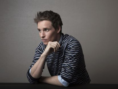 "Actor Eddie Redmayne poses for a portrait in New York to promote his film, ""Fantastic Beasts and Where to Find Them,"" the first of a planned five prequels to the ""Harry Potter"" series by J.K. Rowling."