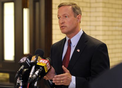 Gov. Martin O'Malley spoke last month about the indictments regarding the Baltimore City Detention Center.