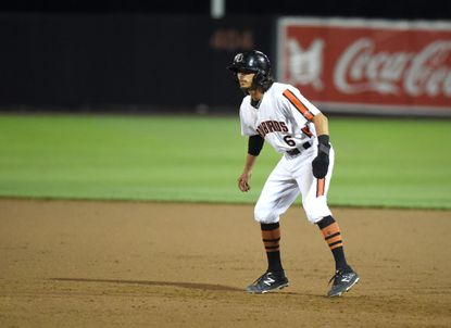 Aberdeen's Andrew Fregia belted a late-inning, three-run home run Wednesday night to lift the IronBirds to a fifth straight win.