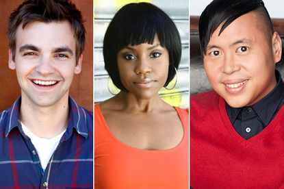 CBS makes deals with three performers from its diversity showcase