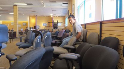Nonprofit Sells Used Office Furniture For Cheap Keeps It Out Of Landfills Baltimore Sun