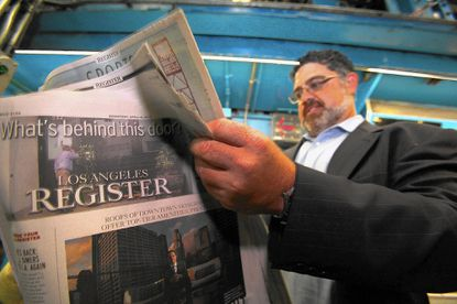 The Los Angeles Register is one of many newspapers around the country that has closed in recent years.