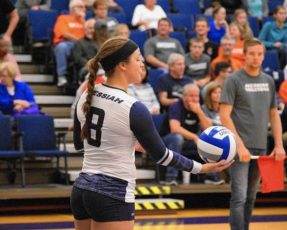Messiah senior Jane Underman, a Carroll Christian graduate, recently received All-America honors from the American Volleyball Coaches Association. Underman is also the MAC Commonwealth Player of the Year for the second season in a row.