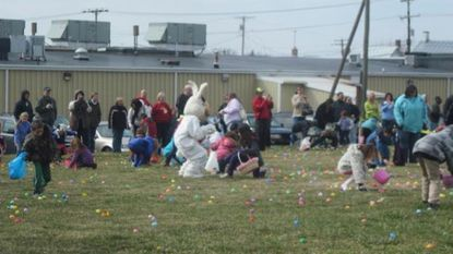 A photo from last year's Breakfast with the Easter Bunny at Lineboro Volunteer Fire Department is shown. This year's event is set for Saturday, March 24, from 8 to 11 a.m. at the fire company.
