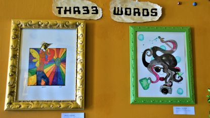 An Eye for Art: Ongoing 'Three Words' show at Birdie's Cafe to help fund Pride Festival