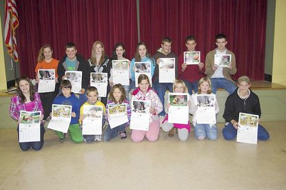 Walter G. Coale provides calendars for 4-H