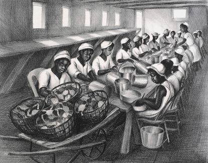 Lewis Museum presents Ruth Starr Rose's prints and paintings of her African-American Eastern Shore neighbors
