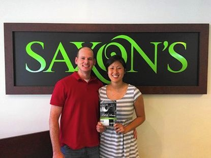 Greg Hunter and Megan Gernand, of Forest Hill, won Saxon's Diamond Centers' Let It Rain promotion after it rained more than an inch on their wedding day.