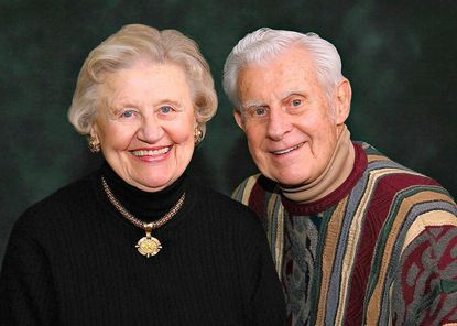Anastasia U. Zimmerman and Dr. Lorenz E. Zimmerman