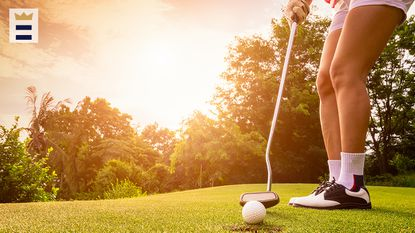 Take precautions when playing golf under the hot summer sun: drink lots of water, wear sunscreen, play early, dress to stay cool, ride instead of walk and park the golf cart in the shade.