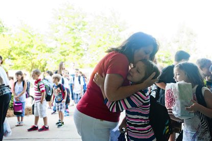 First day of school a time for new beginnings at Relay Elementary
