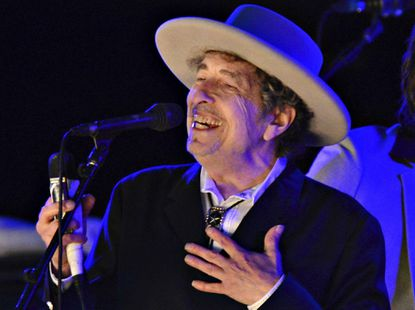 Bob Dylan will be at the UMBC Event Center on Nov. 12.