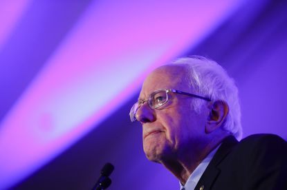 Democratic presidential candidate Sen. Bernie Sanders, I-Vt., speaks during First in the South Dinner, Monday, Feb. 24, 2020, in Charleston, S.C.