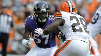 Ravens linebacker C.J. Mosley is part of an impressive rookie class.