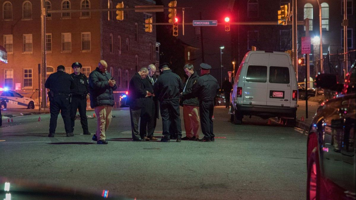 14 shot in 24 hours in Baltimore, five in single West Baltimore