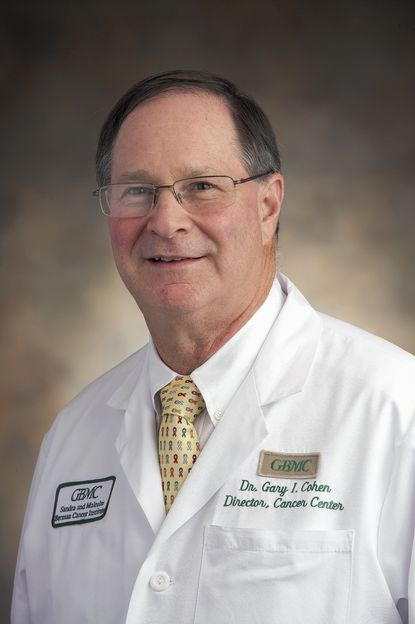 Dr. Gary I. Cohen, medical director of The Sandra & Malcolm Berman Cancer Institute at Greater Baltimore Medical Center.