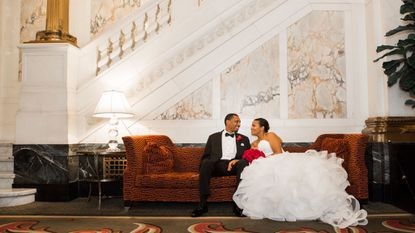 Keshia Pollack and Edward Porter married Sept. 2 at Hotel Monaco. They met through an online dating site in April 2015.