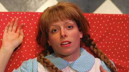 """Carly J. Bales plays the title role of """"Mary Hartman, Mary Hartman"""" at Annex Theater."""