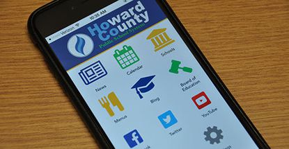 HCPSS launched a mobile app Oct. 23 becoming the latest Maryland school system to offer the application for mobile devices.