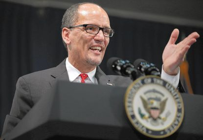 Obama official Tom Perez at center of vice president talk