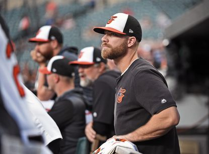 The Orioles' Chris Davis has had 49 at-bats without a hit, a major league record.