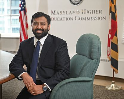 Mohammed Choudhury, the new state superintendent of schools, is a 37-year-old educator with experience in Texas schools. He will be leading the Department of Education during a particularly difficult time.