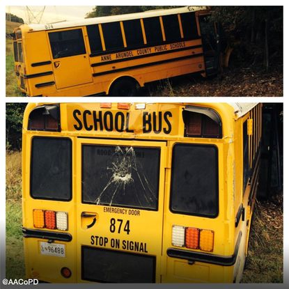A school bus that police said had been stolen in Anne Arundel County was recovered in the area of Governors Bridge Road and Strawberry Run in Davidsonville.