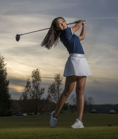 Marriotts Ridge's Faith McIlvain repeated as county and district champion this fall on the way to being named Howard County girls golf Player of the Year for a second straight season.
