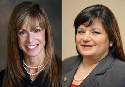 Anne Arundel County Circuit Court Judges Laura S. Ripken (left) and Cathleen M. Vitale (right) have applied to fill a vacancy on the Maryland Court of Appeals, the state's highest court.