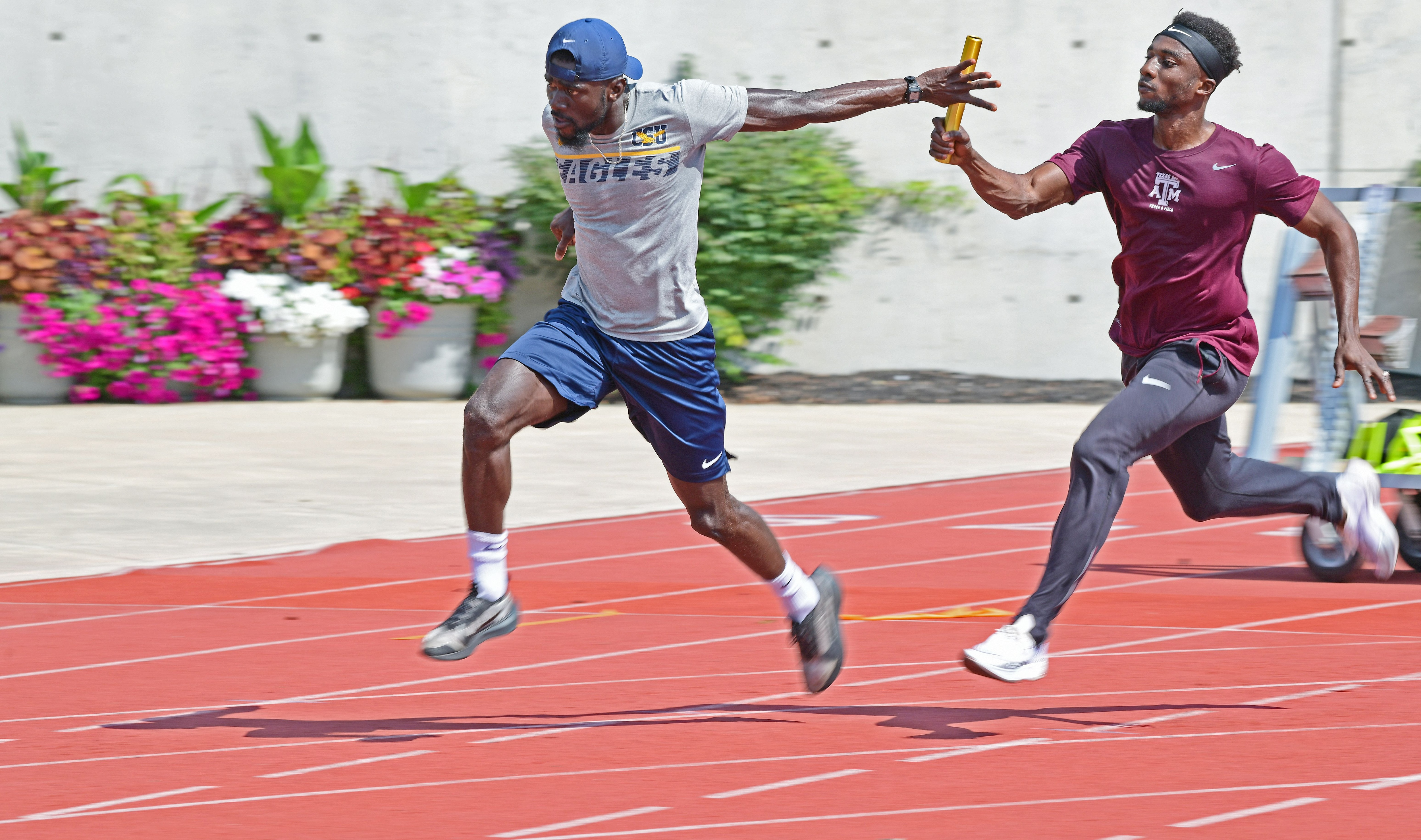 'I feel at home': Sprinters on Ghana's track and field team train in Baltimore for Summer Olympics – Edward Lee