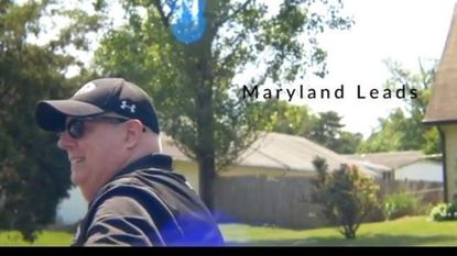 Gov. Larry Hogan has a new online ad that portrays him as a bipartisan problem-solver among the discordant voices from the left and the right on the issue of health care.