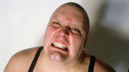 <p>King Kong Bundy, whose real name was Christopher Pallies, poses during a 1985 photo shoot at Madison Square Garden in New York. Pallies died Monday, March 4, 2019 at the age of 61.</p>