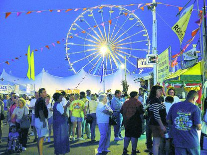 Sunfest offers sun, fun, music, goodeats and more.
