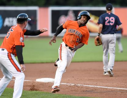 Aberdeen's Jaylen Ferguson banged out three hits and added two RBIs in the IronBirds 9-1 win over Brookiyn Tuesday night.