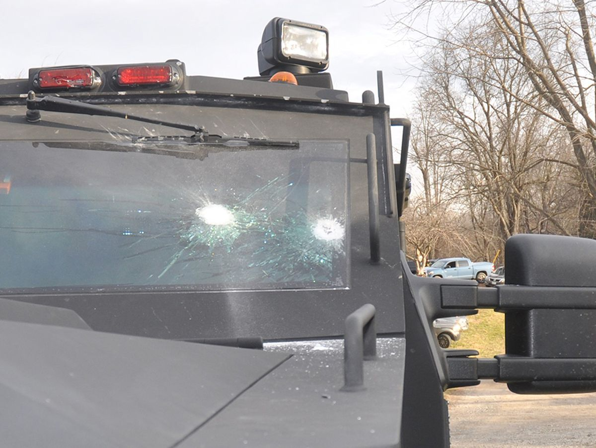 Image of article 'Mount Airy man charged with attempted murder after Howard police say he shot at armored vehicle'
