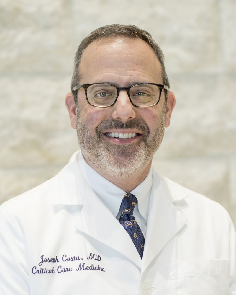Dr. Joseph Costa, the chief of the critical care division at Mercy Medical Center who treated patients battling COVID-19, died of the coronavirus on Saturday.