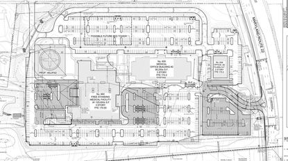 A preliminary site plan has been submitted to the City of Aberdeen for Upper Chesapeake Health to build a free-standing medical facility in the Aberdeen Corporate Park behind the existing office building.