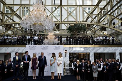Judge denies Trump request to stay emoluments suit, could allow plaintiffs to seek details on hotel's foreign customers
