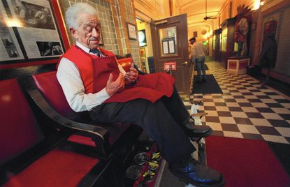 """Charles """"Butch"""" Craig, a Baltimore bootblack for more than 70 years, died March 3 at age 97."""
