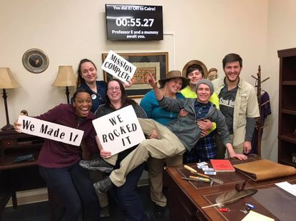 South Carroll: Celebrate Mount Airy's 125th birthday; escape room 'links' with golf course; chess club meeting
