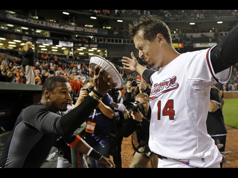 A slice of life of some former Orioles: Adam Jones delivers