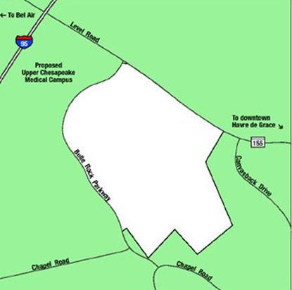 The Havre de Grace City Council has approved the annexation of 244 acres along Route 155 and Bulle Rock Parkway including Mt. Felix Farm.
