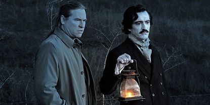 "Val Kilmer and Ben Chaplin as Edgar Allan Poe in new movie ""Twixt"""
