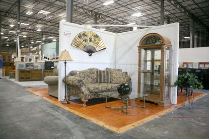 This is a showroom at ReStore. Habitat for Humanity opens its third ReStore in the area. The home improvement center offers deep discounts on appliances, furniture, cabinetry and other building materials and supplies with all profit going to Habitat's building programs.