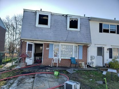 A child playing with a lighter started a fire Tuesday that caused approximately $50,000 in damage to a townhouse in Havre de Grace, according to a preliminary investigation by the state fire marshal.