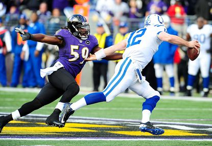 Ravens inside linebacker Dannell Ellerbe didn't seriously injure himself Sunday against the Colts and says he's OK to play Saturday in Denver.