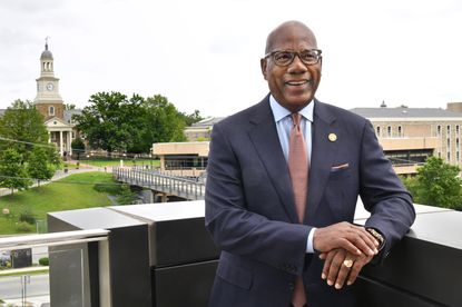 Morgan State University President David Wilson is a 2021 inductee into The Baltimore Sun's Business and Civic Hall of Fame.